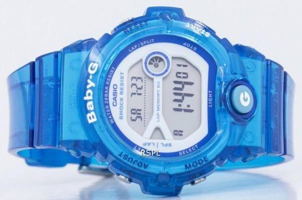 Montre Casio Baby-G résistant aux chocs numérique BG-6903-2 b BG6903-2 b féminin