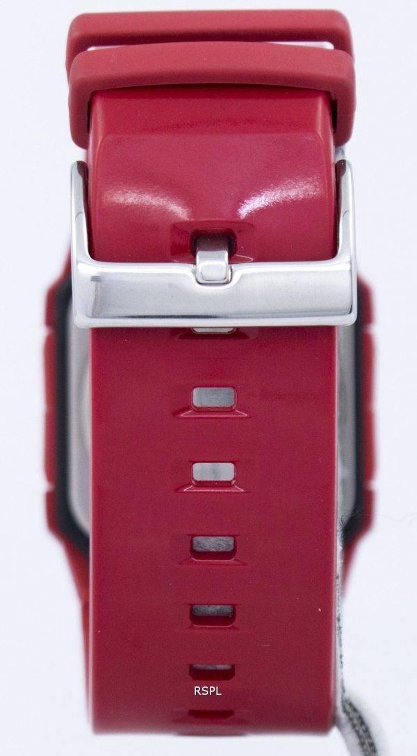 Casio Baby-G Alarme Rouge Heure monde BGA-200PD-4B montre des femmes