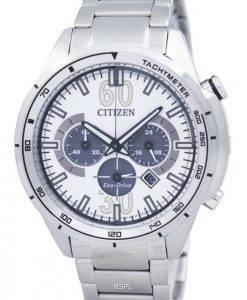 Montre Citizen Eco-Drive chronographe tachymètre CA4120-50 a masculine