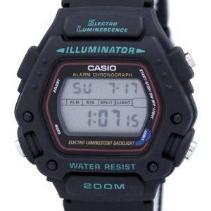Casio Digital alarme classique chronographe WR200M 290-DW-1VS DW-290-1 montre homme