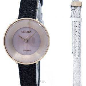 Ambiluna de L Citizen Eco-Drive EM0608-42 X Women Watch