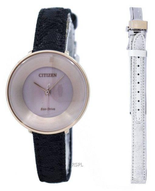 Ambiluna de L Citizen Eco-Drive EM0608-42 X Women Watch