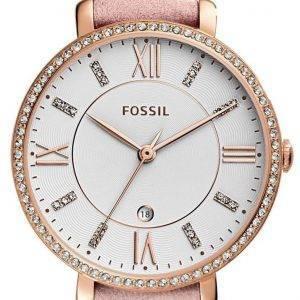 Fossiles montre Quartz Jacqueline diamant Accent ES4303 féminin