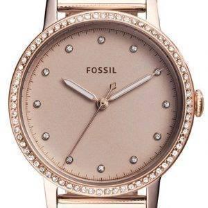 Fossile Neely Quartz diamant Accent ES4364 Women Watch