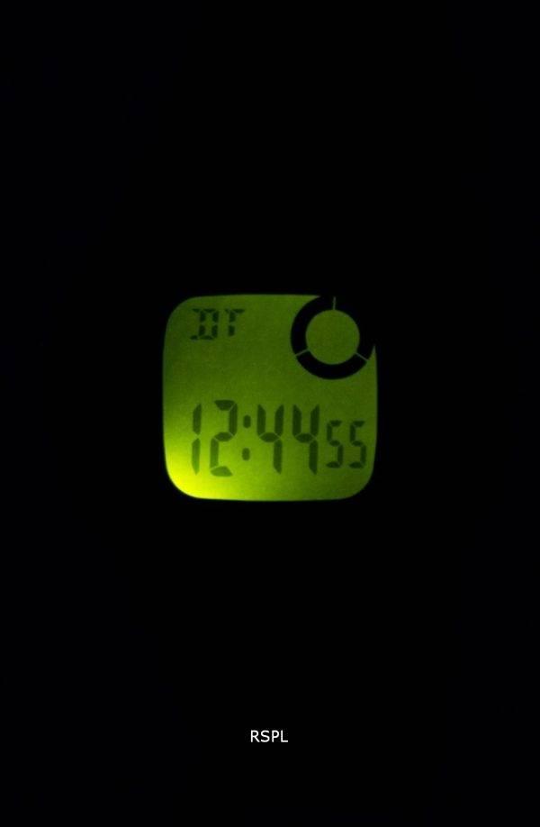 Montre Casio Illuminator heure double alarme Chrono F-200W-2ASDF F200W-2ASDF hommes