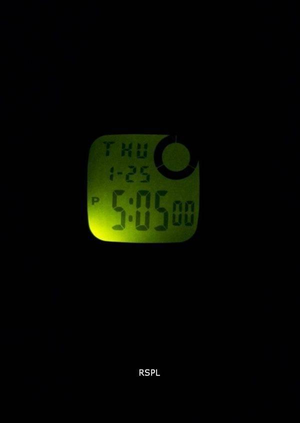 Montre Casio Illuminator heure double alarme Chrono F-200W-9ASDF F200W-9ASDF hommes