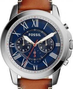 Accorder des fossiles montre chronographe Quartz FS5210 masculin