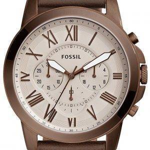Accorder des fossiles montre chronographe Quartz FS5344 masculin