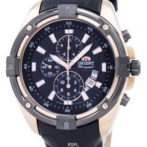 Orienter la montre chronographe Quartz FTT0Y004B0 masculin
