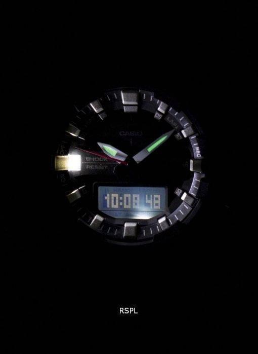 Montre Casio G-Shock résistant aux chocs analogique numérique GA-800-1ADR GA800-1ADR masculine