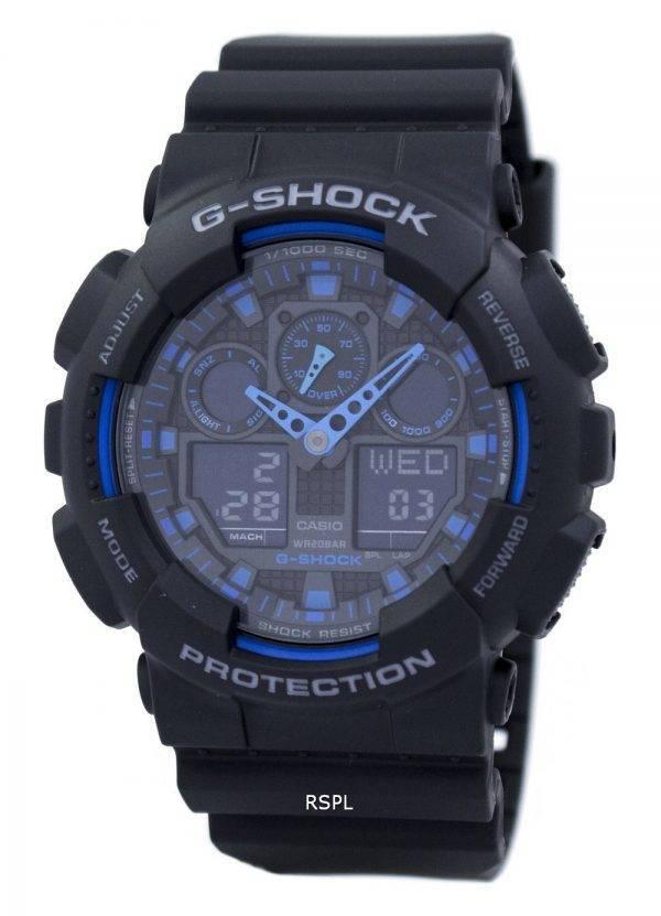 Alarme Casio G-Shock GA-temps du monde 100-1A2 GA-100 Montre