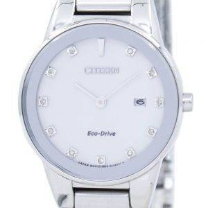 Axiome de Citizen Eco-Drive diamant Accent GA1050-51 b Women Watch
