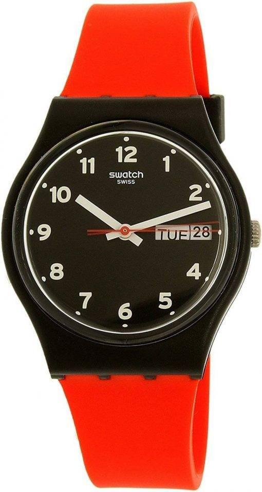 Montre unisexe Swatch Originals Grin rouge Quartz GB754