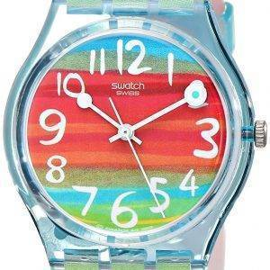 Swatch Originals couleur la ciel Quartz GS124 montre unisexe