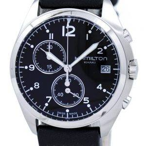 Hamilton Khaki Aviation pilote Pioneer montre Chrono Quartz H76512733 masculin