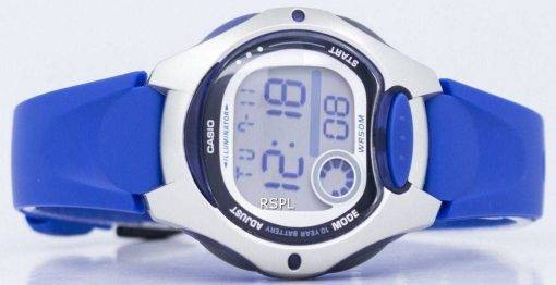 Montre Casio Illuminator Dual Time Digital LW-200-2AVDF LW200-2AVDF féminin