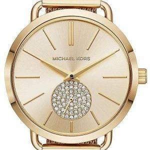 Montre Michael Kors Portia Quartz diamant Accent MK3844 féminin
