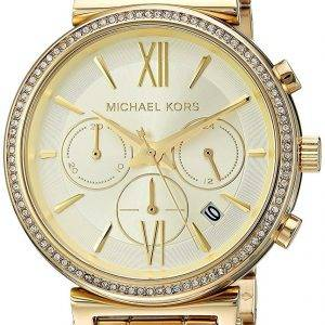 Montre Michael Kors Chronographe Quartz diamant Accent MK6559 féminin