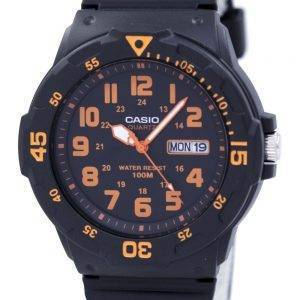 Montre Casio Quartz analogique cadran noir MRW-200H-4BVDF MRW-200H-4BV masculin