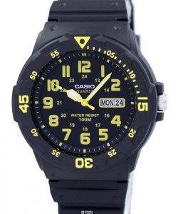 Montre Casio Quartz analogique cadran noir MRW-200H-9BVDF MRW-200H-9BV masculin