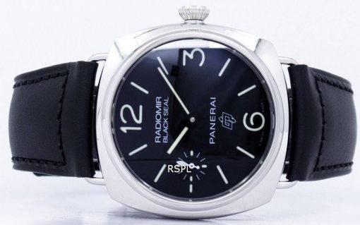 Panerai Radiomir Black Seal Logo Acciaio automatique PAM00380 montre homme