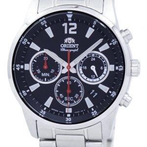 Orient Sports Chronographe Quartz Japon fait RA-KV0001B00C montre homme