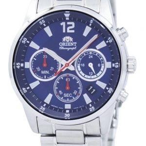 Orient Sports Chronographe Quartz Japon fait RA-KV0002L00C montre homme