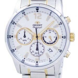 Orient Sports Chronographe Quartz Japon fait RA-KV0003S00C montre homme