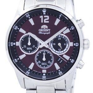 Orient Sports Chronographe Quartz Japon fait RA-KV0004R00C montre homme