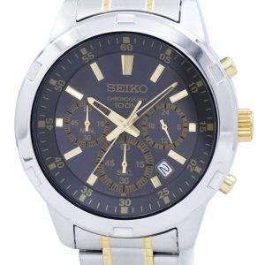 Montre Seiko chronographe Quartz SKS609 SKS609P1 SKS609P hommes