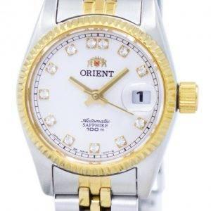 Orienter la montre Oyster automatique diamant Accent SNR16002W féminin