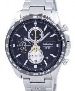 Montre Seiko chronographe Quartz tachymètre SSB261 SSB261P1 SSB261P hommes