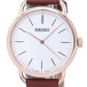 Montre Seiko classique Quartz SUR238 SUR238P1 SUR238P féminin