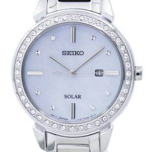 Montre Seiko solaire diamant Accent SUT327 SUT327P1 SUT327P féminin