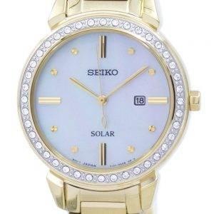 Montre Seiko solaire diamant Accent SUT330 SUT330P1 SUT330P féminin