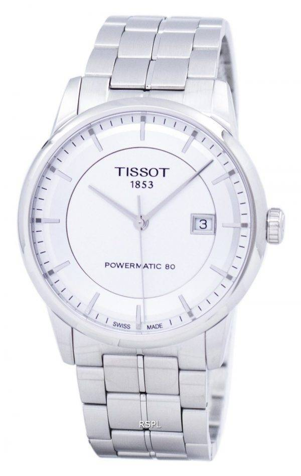 Montre Tissot T-Classic luxe Powermatic 80 T086.407.11.031.00 automatique T0864071103100 masculin