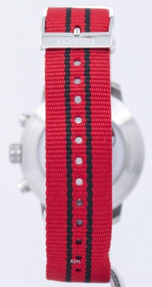 Tissot Quickster NBA Chicago Bulls montre chronographe T095.417.17.037.04 T0954171703704 masculin