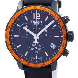 Tissot Quickster chronographe tachymètre Quartz T095.417.36.057.01 T0954173605701 montre homme