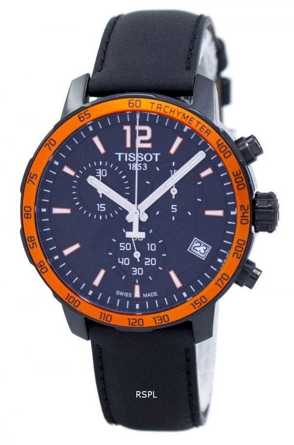 Tissot Quickster Chronograph Tachymeter Quartz T095.417.36.057.01 Men's Watch