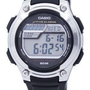 Casio Digital 5 alarmes illuminateur W-212H-1AVDF W-212H-1AV montre homme