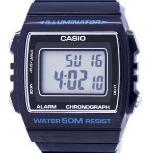 Montre unisexe Casio Digital alarme chronographe W-215H-2AVDF W-215H-2AV