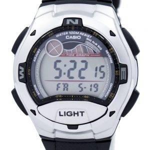 Casio Digital Sports marée graphique illuminateur W-753-1AVDF W-753-1AV montre homme