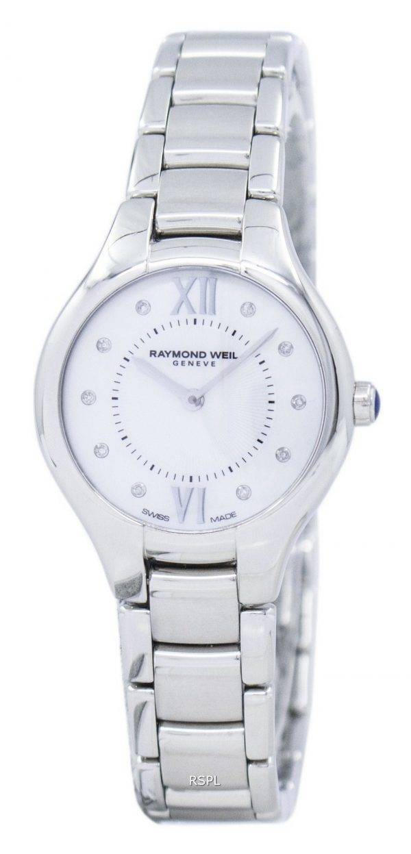 Raymond Weil Noemia diamant Accent Quartz 5127-ST-00985 Women Watch