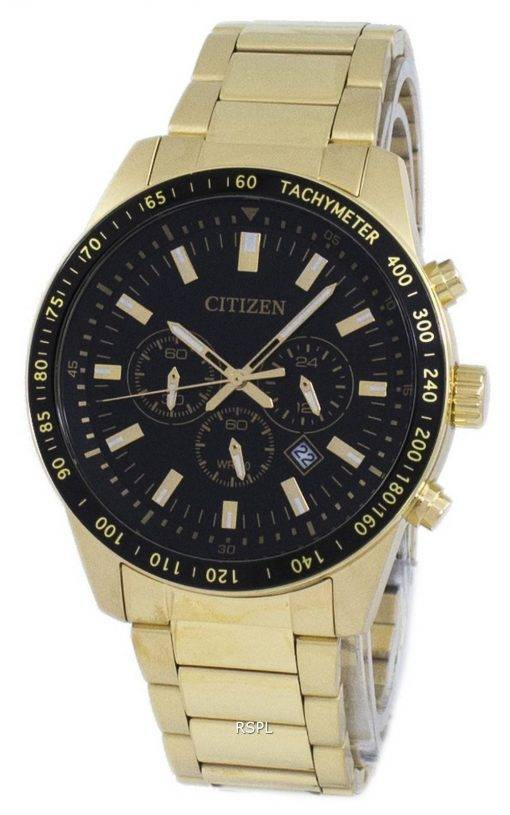 Tachymètre chronographe Citizen Quartz AN8072-58E montre homme