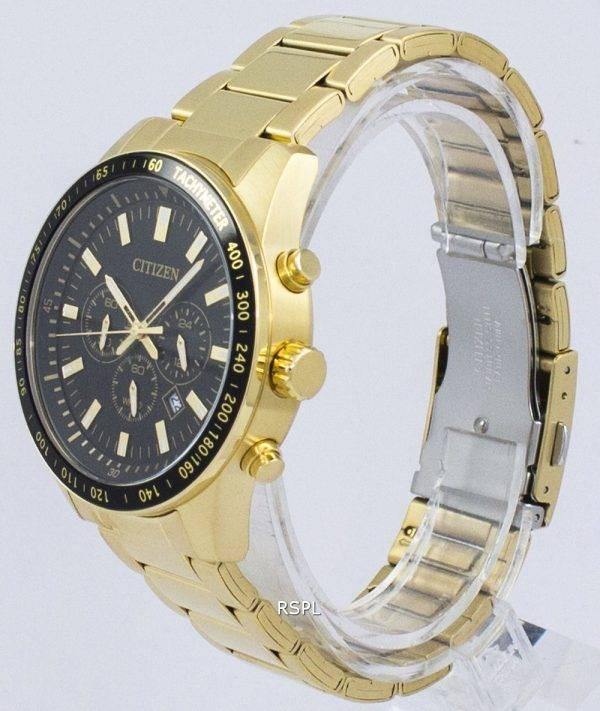 Tachymètre chronographe Citizen Quartz AN8072-58E montre homme