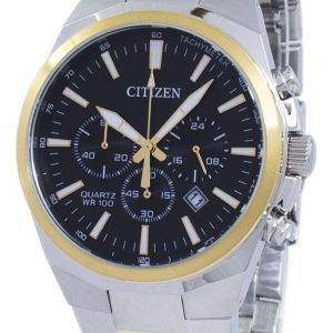 Tachymètre chronographe Citizen Quartz AN8174-58E montre homme