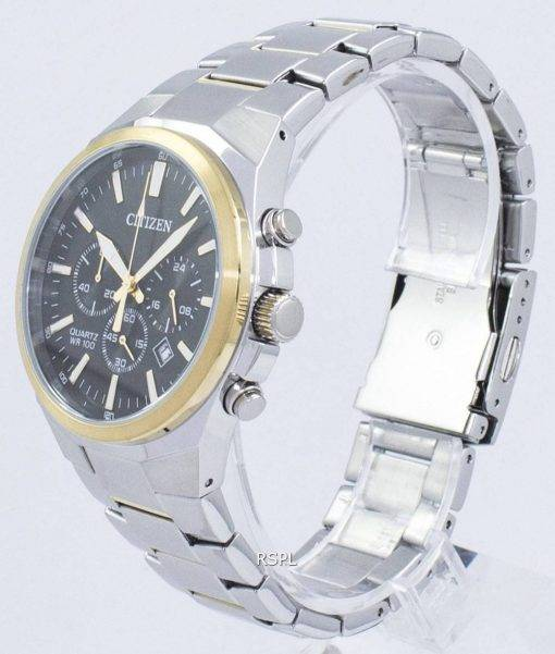 Tachymètre chronographe Citizen Quartz AN8174-58E montre homme