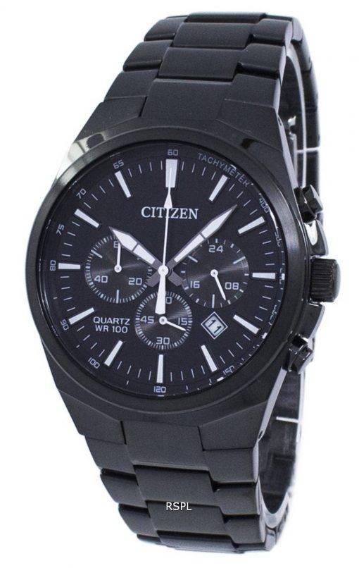 Montre tachymètre chronographe Citizen Quartz AN8175-55E homme