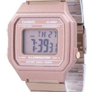 Vintage Casio Illuminator alarme chronographe montre unisexe numérique B650WC-5 a