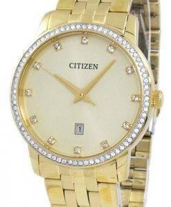 Montre Citizen analogique Quartz diamant Accent BI5032 - 56p masculine